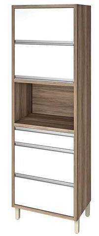 Paneleiro Nesher Baronese (70cm/2 portas/3 gavetas/branco)