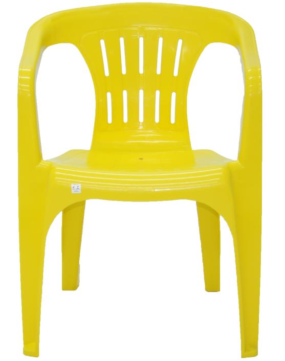 Poltrona Plastica Tramontina Atalaia 92210/000 (amarelo)