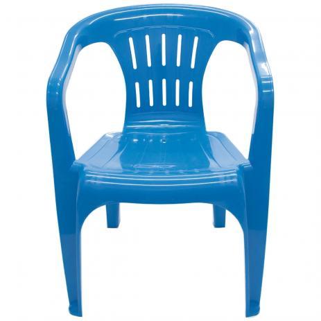 Poltrona Plastica Tramontina Atalaia 92210/070 (azul)