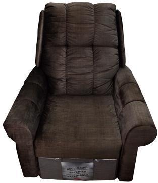 Poltrona Reclinavel Herval MH-1216 (marrom veludo linho)