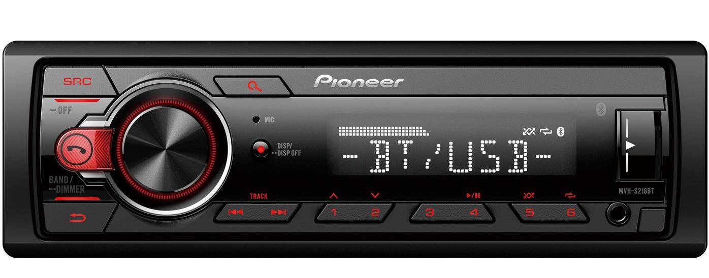 Rádio P/Auto Pioneer MVH-S218BT