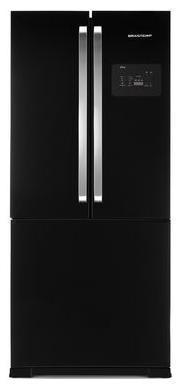 Refrigerador 3 Portas Frost Free 540L Brastemp Side Inverse BRO80AEANA (preto)