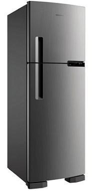 Refrigerador Duplex Frost Free 375L Brastemp BRM44HKANA (platinum)