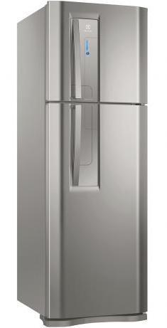 Refrigerador Duplex Frost Free 382L Electrolux TF42S (platinum)