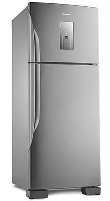 Refrigerador Duplex Frost Free 435L Panasonic Econavi NR-BT50BD3XA (aço escovado)