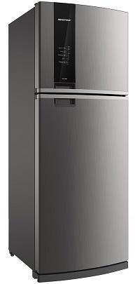 Refrigerador Duplex Frost Free 462L Brastemp BRM56AKANA (platinum)