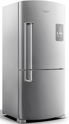 Refrigerador Duplex Frost Free 573L Brastemp Inverse Maxi BRE80AKANA (platinum)