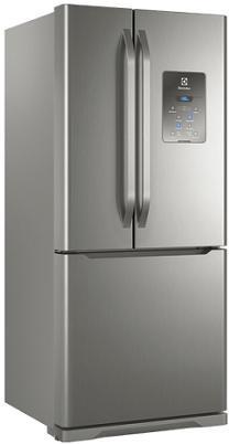 Refrigerador Duplex Frost Free 579L Electrolux  DM84X (inox)