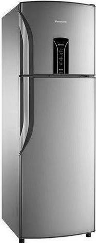 Refrigerador Duplex Frost Free Inverter 387L Panasonic NR-BT42BV1XA (aço escovado)