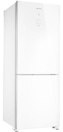 Refrigerador Duplex Frost Free Inverter 425L Panasonic White Glass NR-BB53GV3WA (branco)
