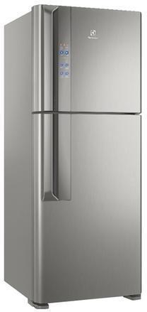 Refrigerador Duplex Frost Free Inverter 431L Electrolux IF55S (platinum)