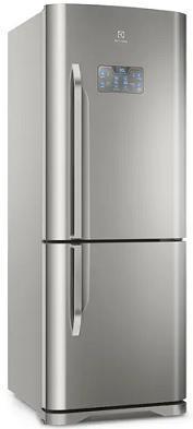 Refrigerador Duplex Frost Free Inverter 454L Electrolux IB53X (Inox)