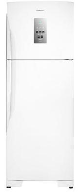 Refrigerador Duplex Frost Free Inverter 483L Panasonic Econavi NR-BT55PV2WA (branco)