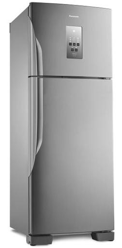 Refrigerador Duplex Frost Free Inverter 483L Panasonic Econavi NR-BT55PV2XA (aço escovado)
