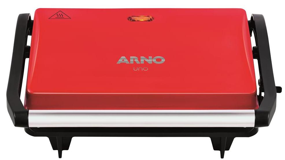 Sanduicheira e Grill Arno Compact Uno GUNO/SW331580 (vermelho)