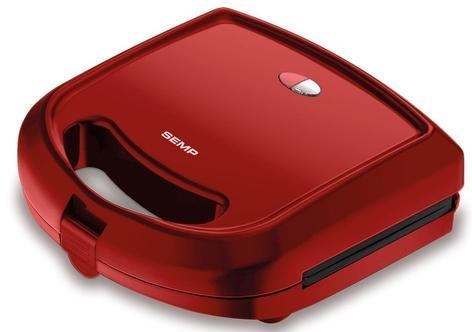 Sanduicheira e Grill Semp Hype Cherry GR3019VM1 (vermelho)
