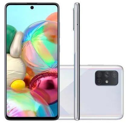 Smartphone Samsung Galaxy A71 128GB SM-A715F/DS (Prata)