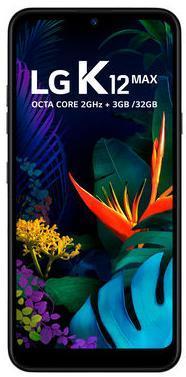 Smartphone LG K12 Max 32GB LM-X520BMW (Platina)