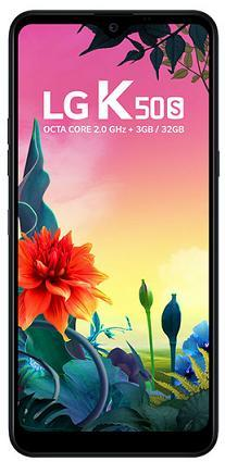 Smartphone LG K50S 32GB LM-X540BMW (Preto)