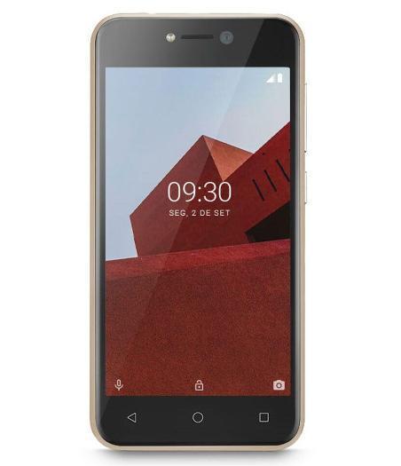Smartphone Multilaser E 32GB P9129 (dourado)