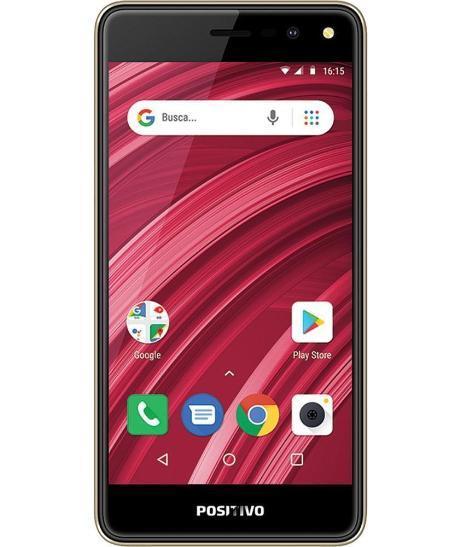 Smartphone Positivo Twist 3 Fit Dual 32GB S509C (dourado)