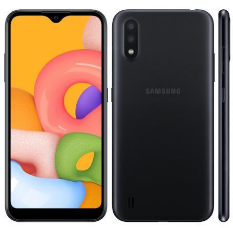 Smartphone Samsung Galaxy A01 32GB SM-A015M/DS (preto)
