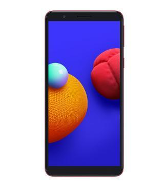 Smartphone Samsung Galaxy A01 Core Duos 32GB SM-A013M/DS (vermelho)