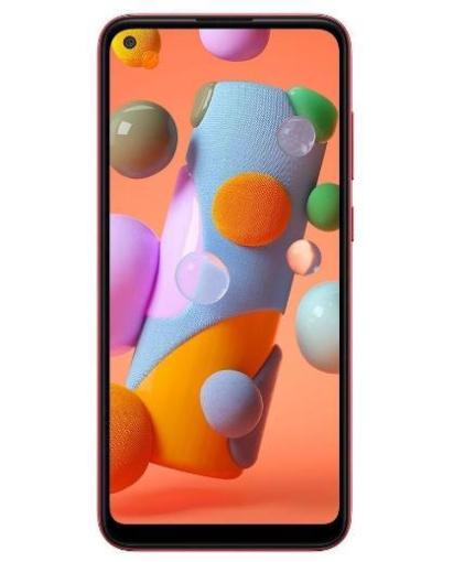 Smartphone Samsung Galaxy A11 64GB SM-A115M/DS (Vermelho)