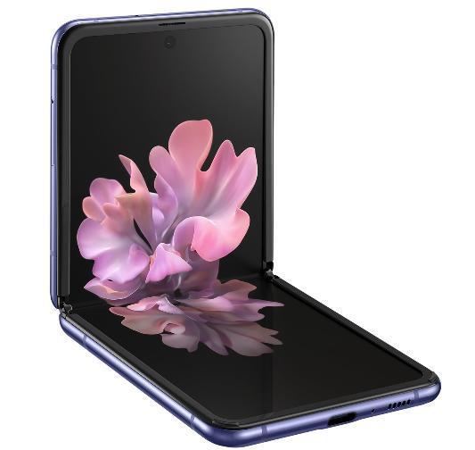 Smartphone Samsung Galaxy Z Flip 256GB SM-F700F/DS (violeta)
