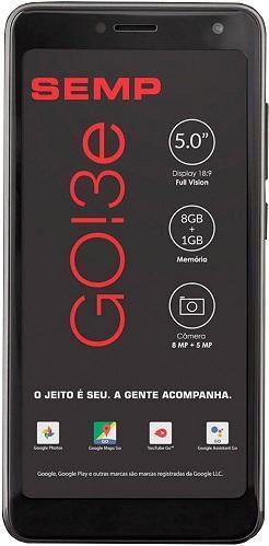 Smartphone Semp TCL GO 3E Dual 8GB (Preto)