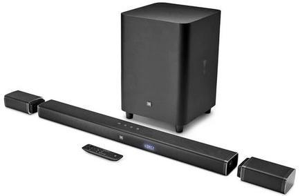Sound Bar 5.1 JBL Ultra HD 4K BAR51BLKBR (218W RMS)