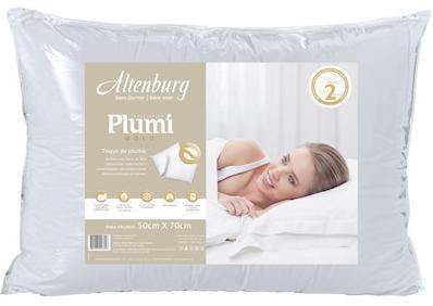 Travesseiro Altenburg Plumi Gold (branco)