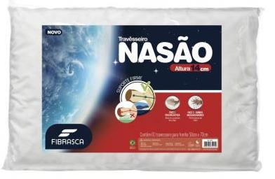 Travesseiro Fibrasca Nasao 4404 (50x70cm)