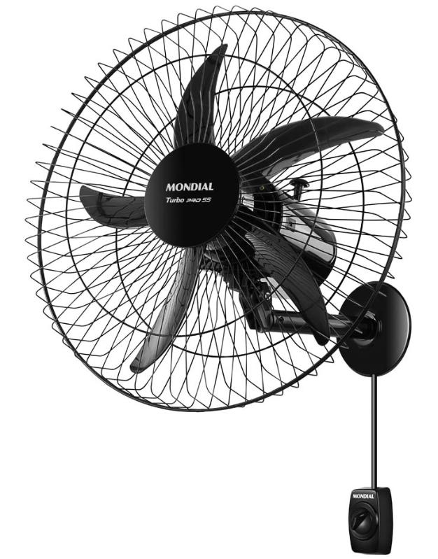 Ventilador de Parede 55Cm Mondial VP-PRO-55/7050-01 (preto)