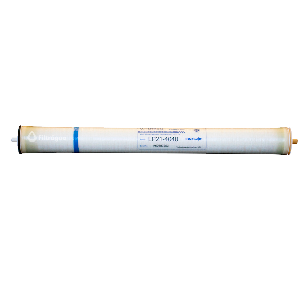 MEMBRANA PARA OSMOSE REVERSA LP21-4040-2400 GPD VONTRON