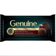 CHOCOLATE BARRA MEIO AMARGO GENUINE 1KG CARGILL