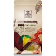 CHOCOLATE CALLETS AMARGO TANZANIE 75% 1KG CALLEBAUT