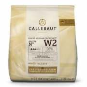 CHOCOLATE CALLETS BRANCO 28% CW2 400G CALLEBAUT