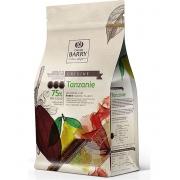 CHOCOLATE CALLETS TANZANIE 75% 1KG CALLEBAUT