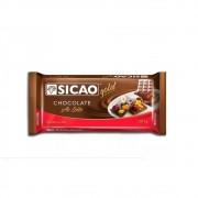 CHOCOLATE EM BARRA AO LEITE 1KG SICAO