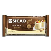 CHOCOLATE EM BARRA BRANCO 1,01KG SICAO