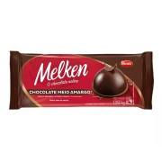 CHOCOLATE EM BARRA MEIO AMARGO 1,05KG MELKEN