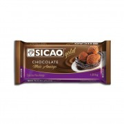 CHOCOLATE EM BARRA MEIO AMARGO 1KG SICAO