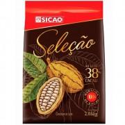 CHOCOLATE EM GOTAS SELEÇÃO 38% 2,05KG SICAO