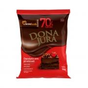 CHOCOLATE EM PÓ 70% CACAU 500G CACAU FOODS