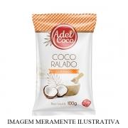 COCO RALADO DESIDRATADO QUEIMADO FIOS LONGOS 1KG ADEL