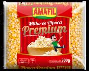 MILHO DE PIPOCA PREMIUM 500G AMAFIL