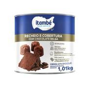 RECHEIO E COBERTURA CHOCOLATE BELGA 1,01KG ITAMBÉ