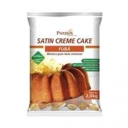SATIN CREME CAKE FUBÁ 2KG PURATOS