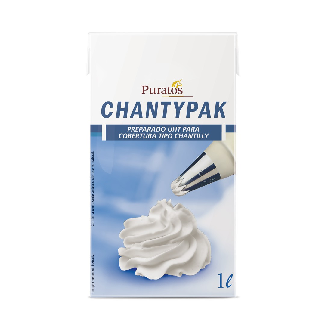 CHANTILLY CHANTYPAK 1L PURATOS